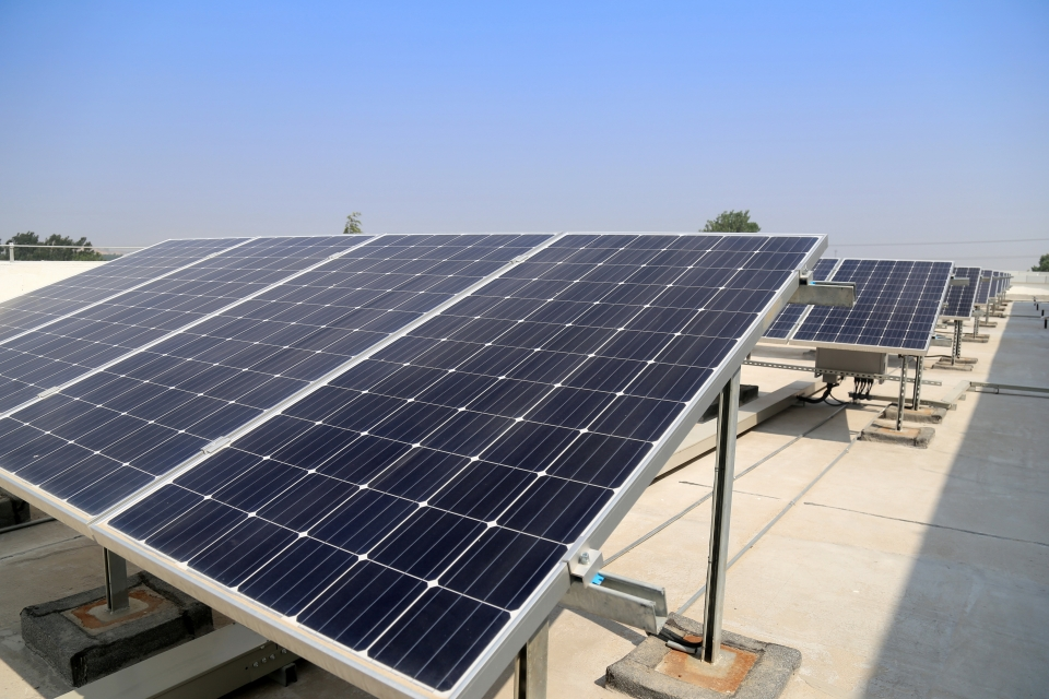 Photovoltaic power plant control with UniPi programmable